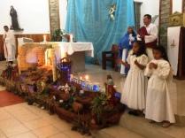 24. 12.2015: In der Kirche zum Heiligen Abend